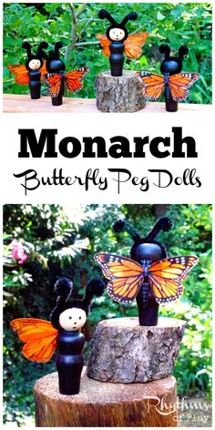 These DIY monarch bu
