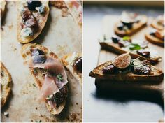 Bruschetta with Fig Compote on eatboutique.com