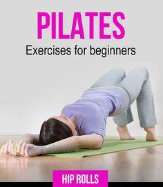 Pilates exercises for beginners : #fitness
