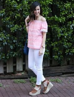 Coral Off the Shoulder Top - Cobalt Chronicles - @cobaltchronicle