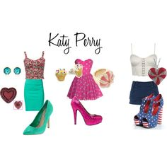 """Katy Perry"" by ashley-nicole-parris on Polyvore"