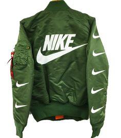 Nike Bomber Jacket Olive