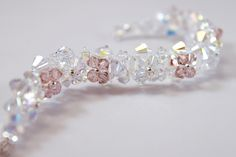 Check out our weddings selection for the very best in unique or custom, handmade pieces from our shops. Flower Bracelet, Brides And Bridesmaids, Our Wedding, Wedding Flowers, Swarovski, Handmade Jewelry, Europe, Free Shipping, Sterling Silver