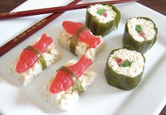 The Royal Cook: Candy Sushi