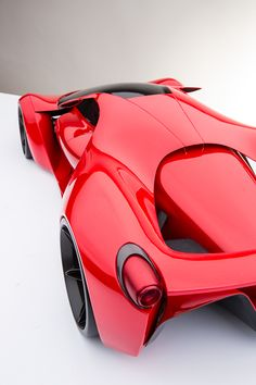 Ferrari F80-Street Legal F1 Concept-Stealth Fighter Inspired-Unique Buyer Personality-F1 Seating Position 2-Occupant offset semi-tandem-Air is channelled through the vehicle to lower frontal area