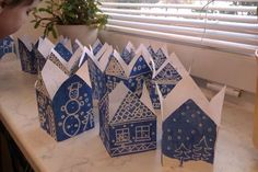 Diy And Crafts, Arts And Crafts, Winter's Tale, Christmas Crafts For Kids, Art Activities, Preschool Crafts, Art Lessons, Projects To Try, Decorative Boxes