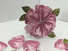 Ophelia Crafts Time saving tips on stamping and punching - YouTube
