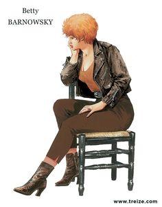 Betty Barnowsky par William Vance. #Dargaud #XIII #BDXIII #Vance