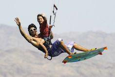 Wow kiteboarding