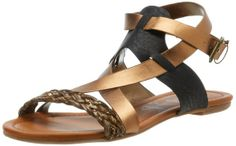 Amazon.com: Rebels Women's Midnight Sandal: Shoes