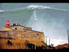 The Top 2 spots of the five biggest waves ever surfed go to Garrett McNamara in #Nazare, #Portugal - via AWE365 24.10.2013 | Video: McNamara Surfing a 100 foot wave on 1-29-2013