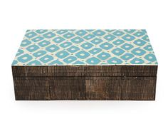 Large Horn Box, Blue on OneKingsLane.com #onekingslane and #designisneverdone