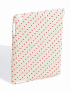 The Limited iPad® 2 Case in coral polka dots