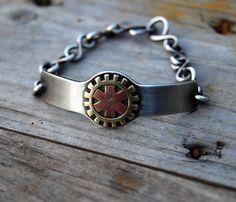 Steampunk Medic Alert Bracelet