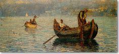 Φλώρα Καραβία Θάλεια Ψατάδες στο Βόσπορο ,π.1905