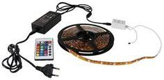 Emos LED Flexi Strip 5m RGB IP65, LED pásik 30W, dialk.ovládač, vrátane zdroja