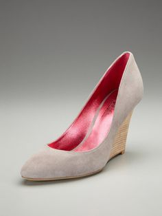 High Heel Wedge Pump