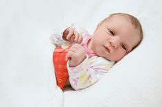 2 days old newborn girl