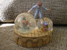 This is a Harry Potter Musical Snow Globe by Enesco that plays,  Eine Kleine Nachtmusik .    It is retired and rare - new condition without box    Com