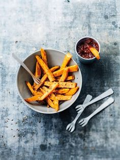 Recipes from The Nest - Sweet Potato and Cumin Frites
