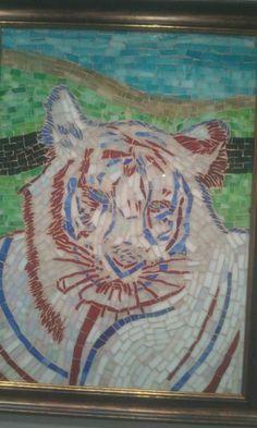 Eye Of The Tiger mosaic
