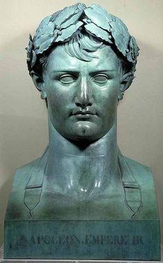 Lorenzo Bartolini, Napoleon I, c. 1800. Louvre Museum