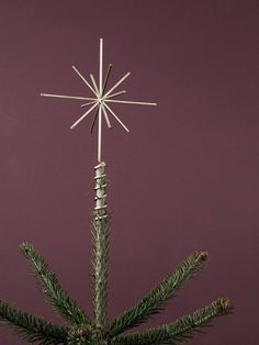 This modern take on the traditional Christmas tree star from Ferm Living is bound to give joy year after year. Christmas Tree Star Topper, Live Christmas Trees, Star Tree Topper, Noel Christmas, Tree Toppers, Christmas Decorations, Xmas, Holiday Decor, Nordic Christmas