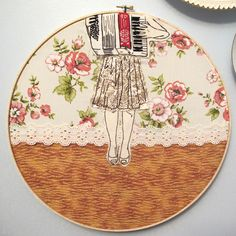 A woman makes a new embroidered piece every day for a year.