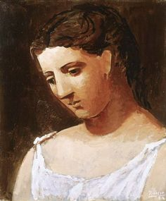 """Pablo Picasso - """"Bust of a woman's shirt"""", 1922"""