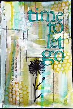 Art Journaling- This one I need to do to reduce stress
