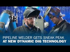 Miller invited pipeline welder Tyler Sasse to visit and try out new Dynamic DIG technology - designed specifically for pipeliners. With Dynamic DIG capabilit.