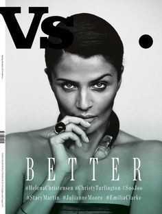 On 6 Vs. Magazine Spring/Summer 2014 Cover, 3 Eyes Are Wide Open & Others Empty. Helena Christensen is guest editor.  - 2 Anne Enke's Sensual Rebel Blog - Anne of Carversville ...