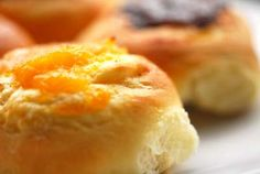 kolaches This sweet, soft, yeasty roll filled with either apricots, prunes, cheese, poppy seeds or sausage of Czech origin is one of my favorites.