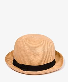 b3d966c4dbe9d1 Straw Garland Bowler Hat | Pretty Things | Hats, Topshop hats ...