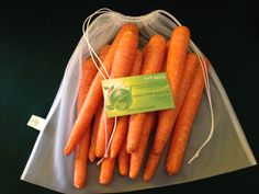 Hyp-bags come in different sizes to accommodate your shopping needs. Also sold on Etsy. Search for helpyourplanetbags How To Store Carrots, Storing Onions, Handmade Crafts, Handmade Jewelry, How To Make Jelly, Rice Bags, Produce Bags, Medium Bags, Sell On Etsy