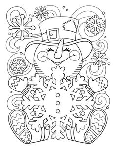Cute Snowman Coloring Pages Ideas For Toddlers - Free Coloring Sheets snowman coloring pages for adults - Cute Snowman Coloring Pages Ideas for Toddlers Snowman Coloring Pages, Printable Christmas Coloring Pages, Christmas Coloring Sheets, Free Printable Coloring Pages, Coloring Book Pages, Christmas Printables, Free Coloring Sheets, Coloring Pages For Kids, Coloring Pages Winter