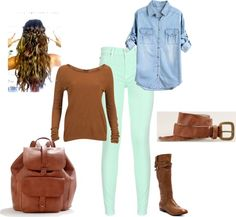 """""""Casual Fall"""" by hpbrat2 on Polyvore"""