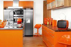 Home Decorating Gallery in Simple Orange Interior Design Ideas