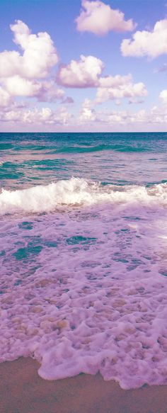Pic of the Day...Pink Beach ---------------------------- #beach #pink #beautiful #ocean #water #waves