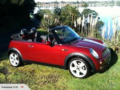 mini cooper convertible? red you say? why YES, i would like that, thanks
