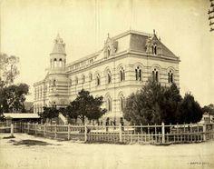 Art Gallery of South Australia in Adelaide in 1884.       Art Gallery c1884