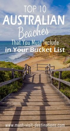 Top 10 Australian Beaches That You Must Include in Your Bucket List #bucketlists #travel