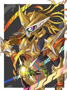 Kamen rider Ex Aid Muteki Gamer