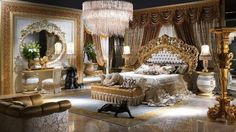 Luxurious French Bedroom