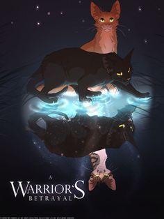 Warriors fanfic cover by Mizu-no-Akira