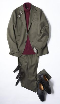 Luxury & Vintage Madrid, offers you the best selection of contemporary and vintage clothing in the world. Older Mens Fashion, Preppy Mens Fashion, Mens Fashion Suits, Mens Suits, Fashion Outfits, Mens Clothing Styles, Men's Clothing, Vintage Clothing, Outfit Grid