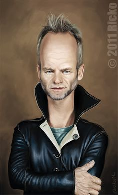 #Sting#Caricature
