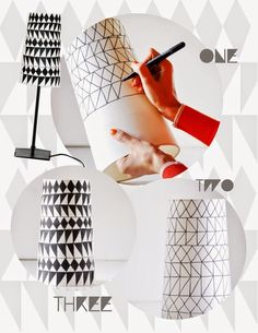 En busca de lámparas... inspiración via pinterest