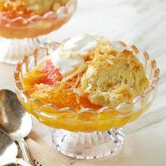 Orange-Grapefruit Cobbler    and other diabetic dessert recipes