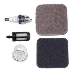 HIPA 4-Feet Fuel Line Filter Air Filter Primer Bulb Spark Plug for STIHL Edger FC75 FC85 HS75 HS80 HS85 HL75 HL75K FH75 KM80 KM85 KM85R SP80 SP85 HT70 HT75 Pole Pruner